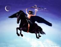Shunksapa Wakan, Black Medicine Horse
