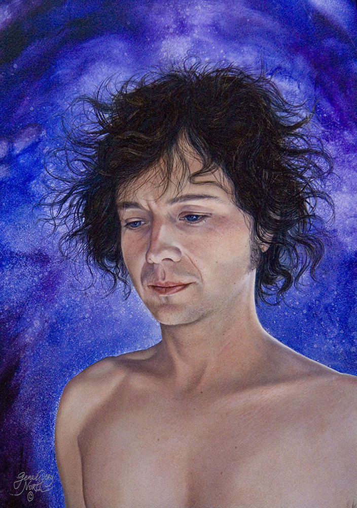 "©2004, Reuben, 14x20"", oil"